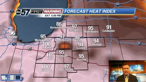 Hot and VERY humid weekend