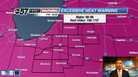 Extreme heat lasts through Sunday
