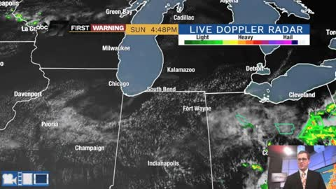 Lower humidity, sunshine and virtually no storm chances