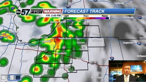 Friday storms bring much needed rain