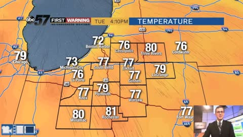 More sunshine, refreshing temps ahead