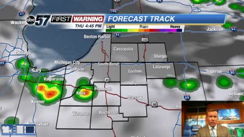 Summertime pop-up storms continue