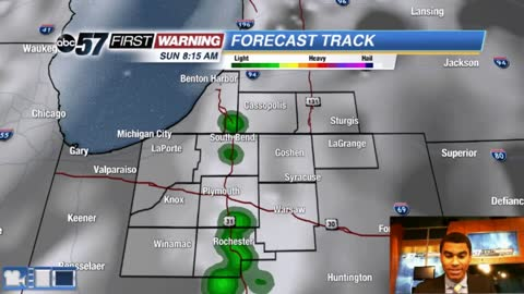 Scattered afternoon storms tomorrow