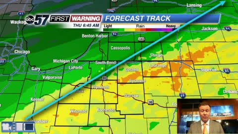 Clouds, showers and drizzle return Thursday