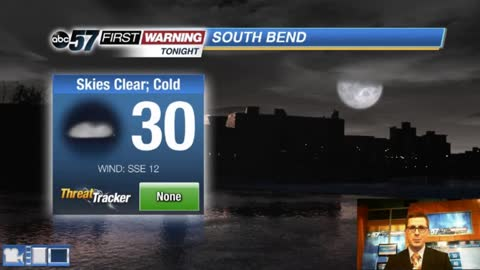 Milder temperatures with rain, wind and snow