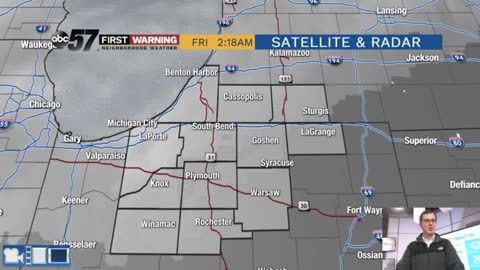 Another cloudy stretch before accumulating snow potential