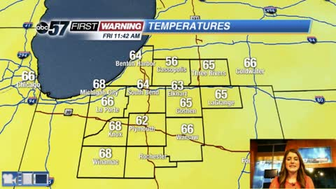 Warm and sunny into Saturday