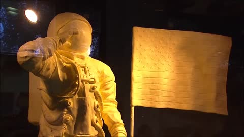 Butter sculptures honor Apollo 11's 50th anniversary