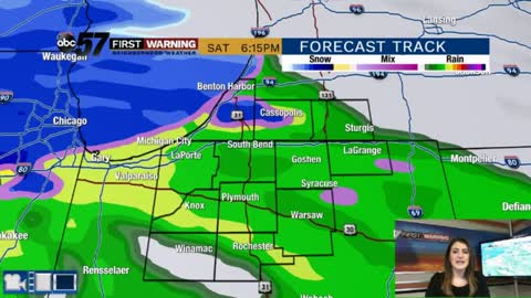 Chilly weekend with rain likely Saturday