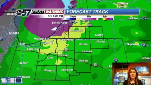Colder with a chance of a wintry mix