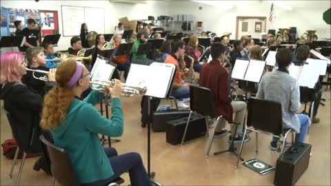 Dowagiac High School Concert Band: Christmas Flourish