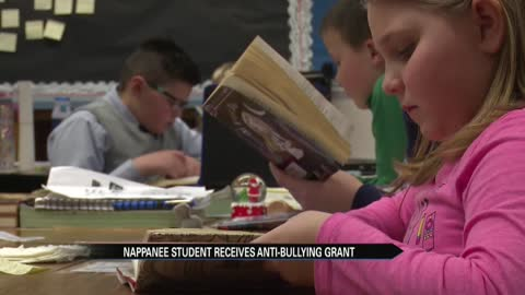 "Student turning ""Little BIG Idea"" grant into anti-bullying efforts"