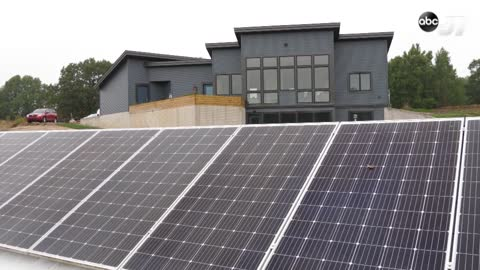 Goshen man invites public to tour his solar-powered home during national event