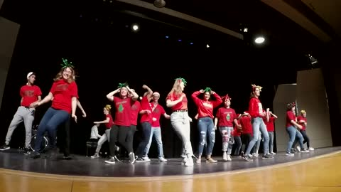 Goshen H.S. Crimsonaires - I Want a Hippopotamus for Christmas...