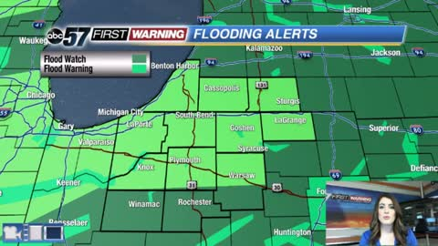 Heavy rain and flooding concerns