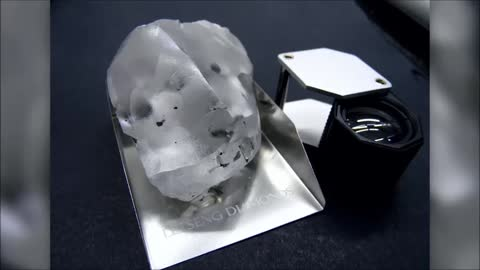 910 carat diamond unearthed at Lesotho mine