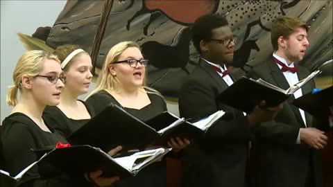 Sounds of the Season: Mishawaka High School Choir - Harold the Drum