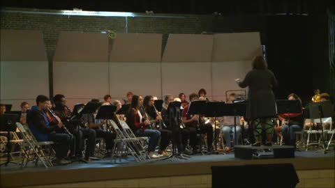 Mishawaka High School Symphonic Band: A Jazzy Christmas