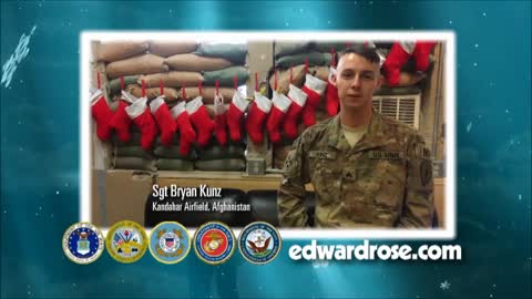 Military Greetings 2017: RP1 Keri Michalski & Sgt. Bryan Kunz
