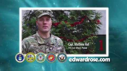 Military Greetings 2018: Captain Matthew Hall