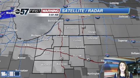 More snow starting this afternoon