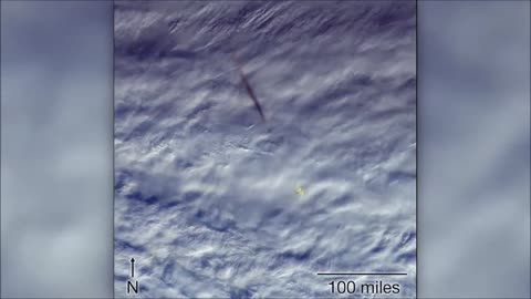 NASA releases images of 'fireball' over Bering Sea