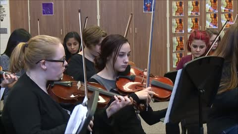 Plymouth High School Orchestra - Wizards in Winter