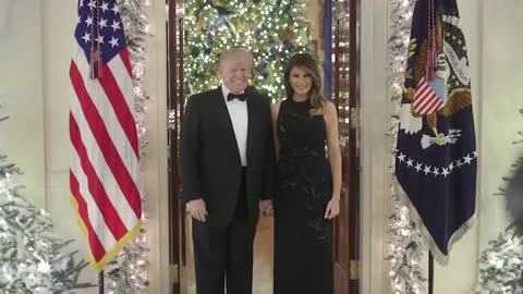 President Trump and First Lady Melania send out Christmas message
