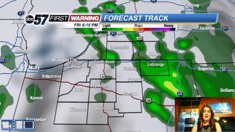Rain chances return then heating up