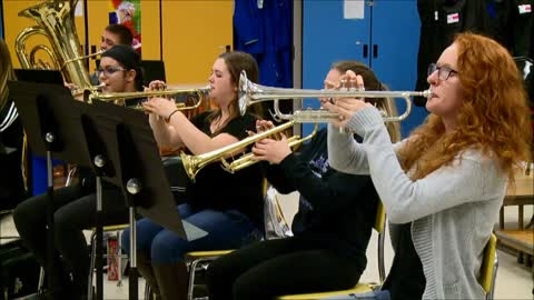 Sounds of the Season: Ross Beatty High School Band - Rudolph the Red Nosed Reindeer