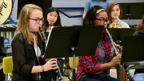 Sounds of the Season: Ross Beatty High School Band - Somewhere in My Memory