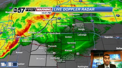 Heavy rain and storms continue tonight