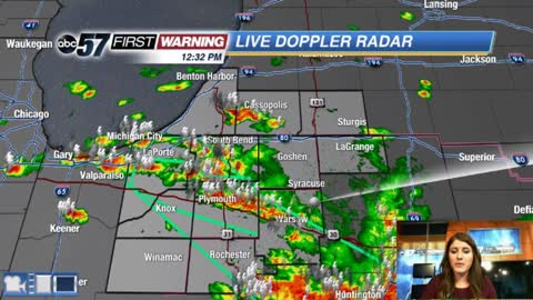 Scattered showers and storms - Flooding Concerns