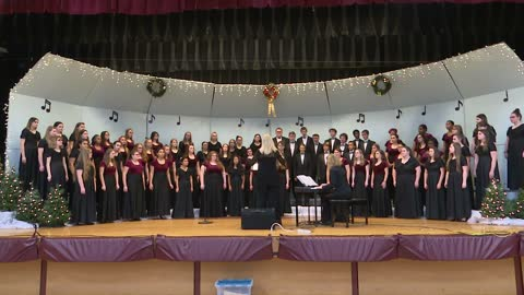 Brandywine H.S. Combined Choirs: Sounds of the Season 2019