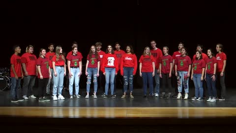 Goshen H.S. Crimsonaires  - The Chistmas Song - SOS 2019
