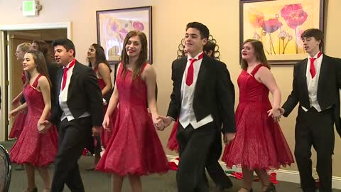 Sounds of the Season: Goshen High School Crimsonaires