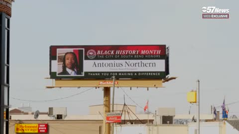 South Bend billboards featuring local leaders for Black History...