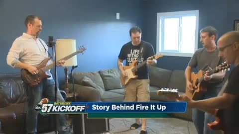 Southern Straightaway creates ABC57 Saturday Kickoff theme song