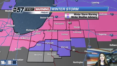 Winter Storm bringing heavy, wet snow