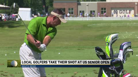 US Senior Open doubles as homecoming for two local golfers