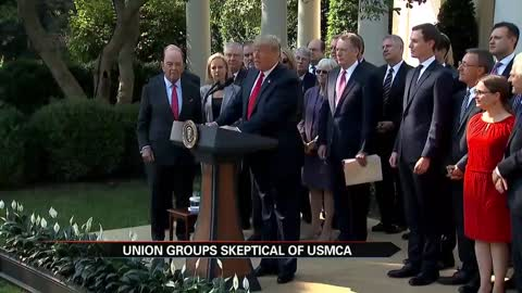 USMCA: lawmakers, union groups want more