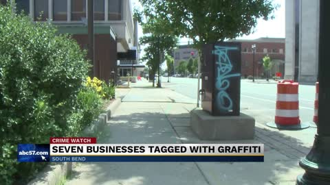 Vandalism continues to affect downtown businesses