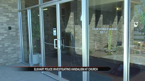 Vandals cause damage at Calvary United Methodist Church