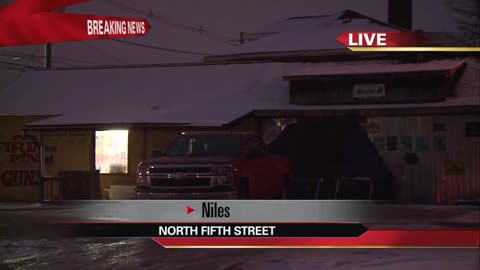 Stolen vehicle crashes into gun store, unknown number of weapons...