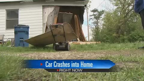 Vehicle crashes through LaPorte home, family looking towards next steps