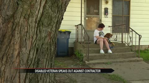 Veteran speaks out against alleged contract scam