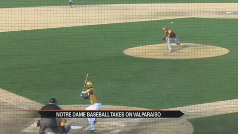VIDEO: Notre Dame baseball routs Valparaiso 10-3