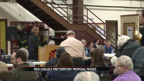 Vote passes proposed fire territory for New Carlisle, Olive Township