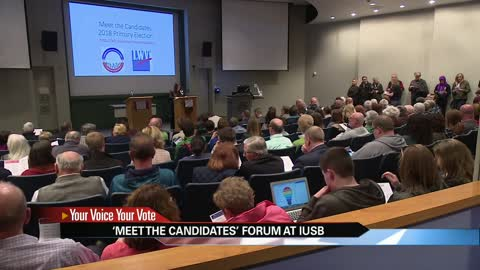 "Voters ""meet the candidates"" at IUSB forum"