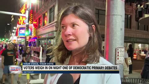 Voters weigh in on Tuesday night's debates